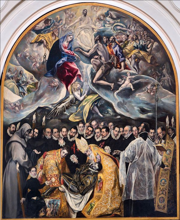Lord of Orgaz Burial (El Greco)