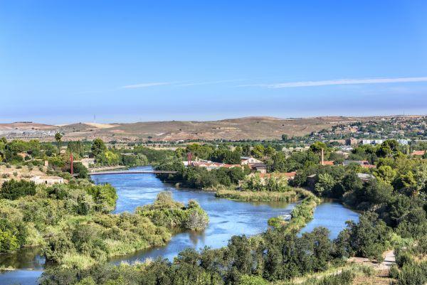 Toledo desde el paseo de Recaredo
