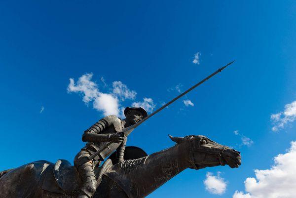 Alcázar de San Juan | Escultura Don Quijote