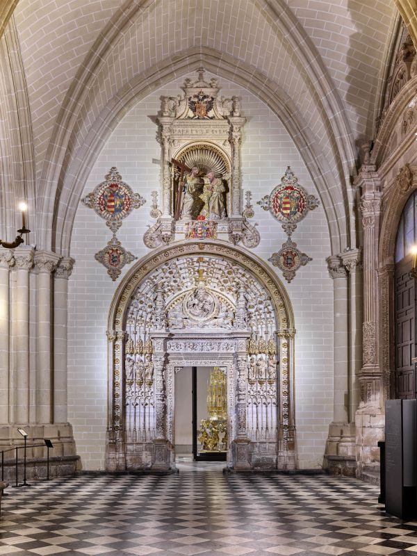 Cathedral, Treasure home page (Toledo)