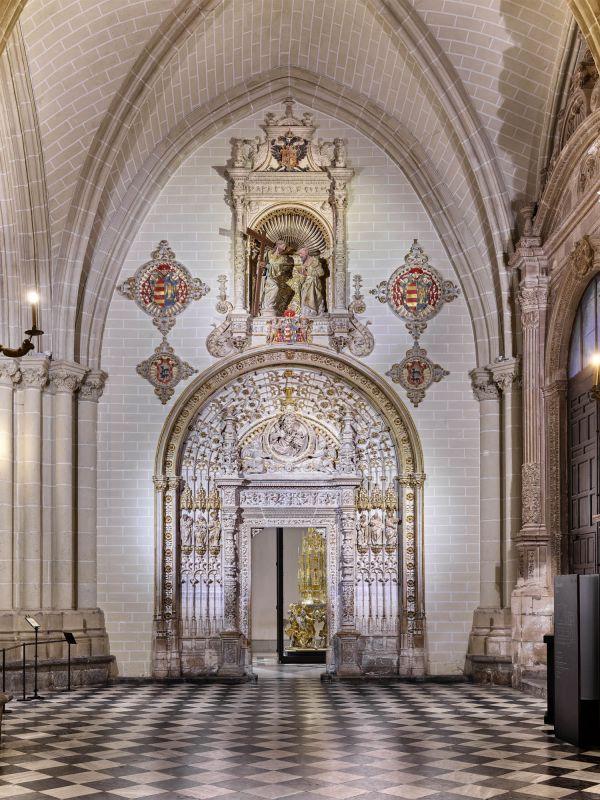 Catedral, portada del Tesoro (Toledo)